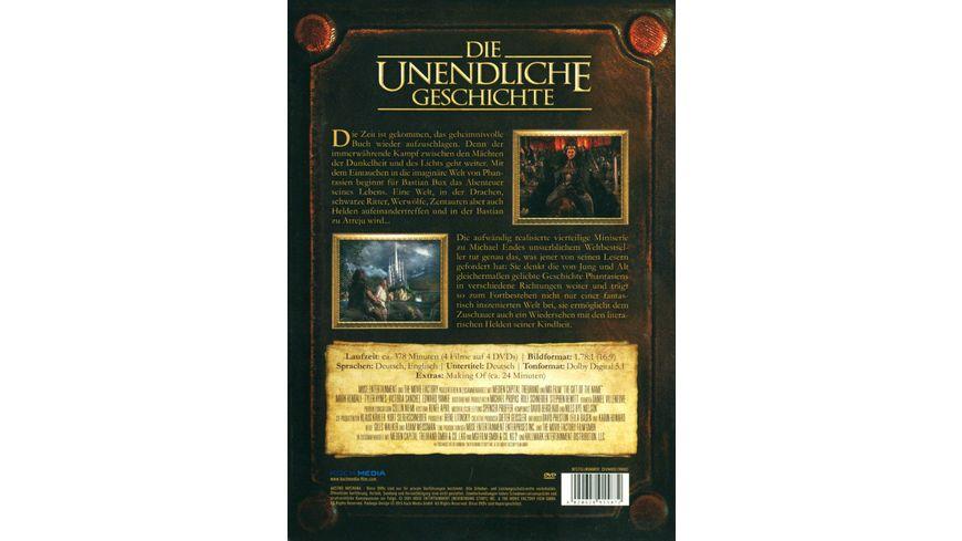 Die unendliche Geschichte Die Abenteuer gehen weiter 4 DVDs