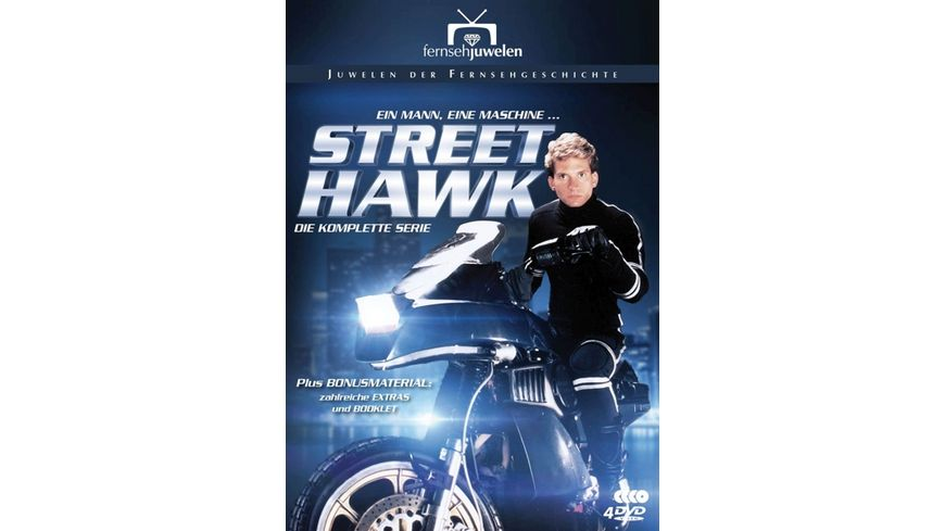 Street Hawk Die komplette Serie 4 DVDs