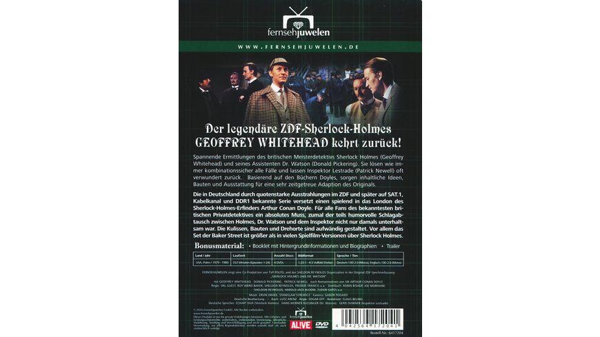Sherlock Holmes und Dr Watson Komplettbox 4 DVDs