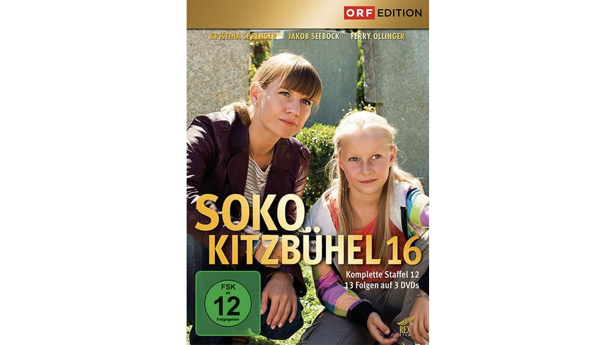 SOKO Kitzbuehel Box 16 3 DVDs