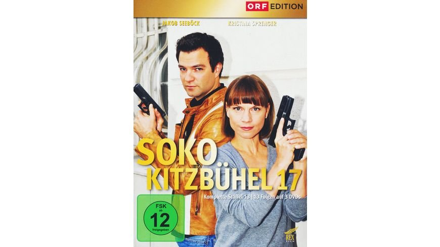 SOKO Kitzbuehel Box 17 3 DVDs