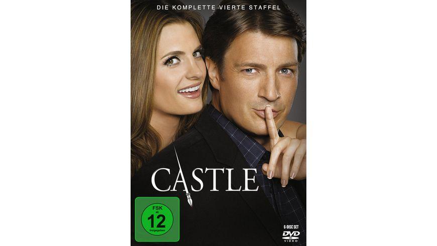 Castle Staffel 4 6 DVDs