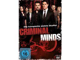 Criminal Minds Die komplette siebte Staffel 5 DVDs