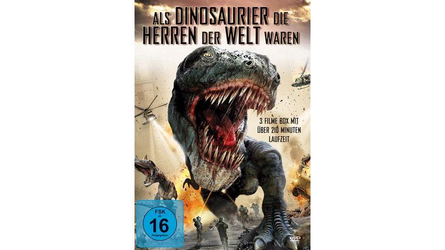 Als Dinosaurier die Herren der Welt waren 3 DVDs