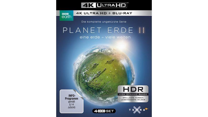 Planet Erde II Eine Erde viele Welten 4K Ultra HD 2 BR4K 2 BRs