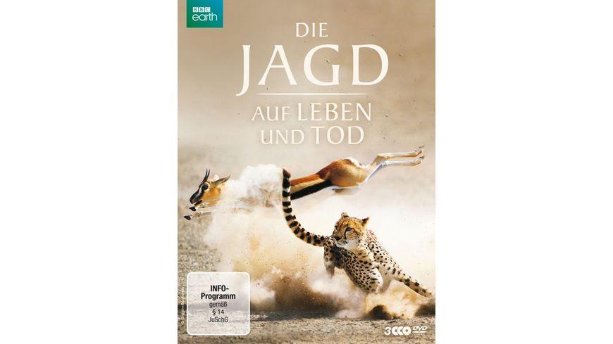 Die Jagd Auf Leben und Tod 3 DVDs