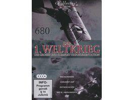 Der Erste Weltkrieg Die grosse und komplette Dokumentation CE 4 DVDs