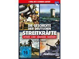 Die Geschichte der deutschen Streitkraefte 1914 1945 4 DVDs