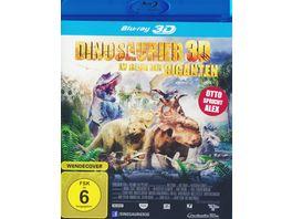 Dinosaurier Im Reich der Giganten inklusive 2D Version