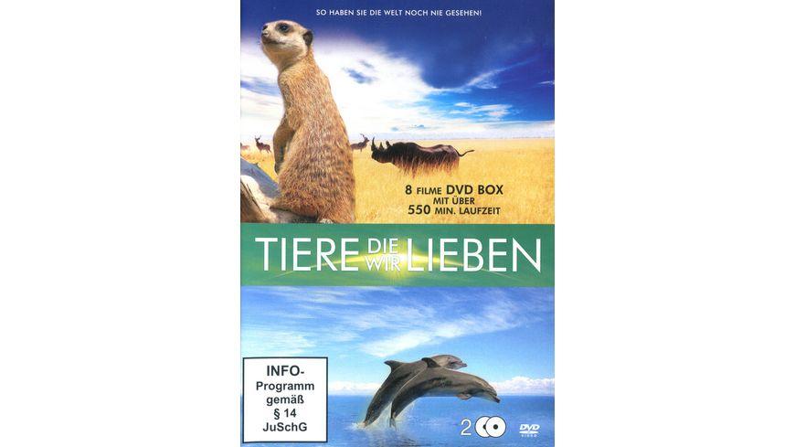 Tiere die wir lieben 2 DVDs