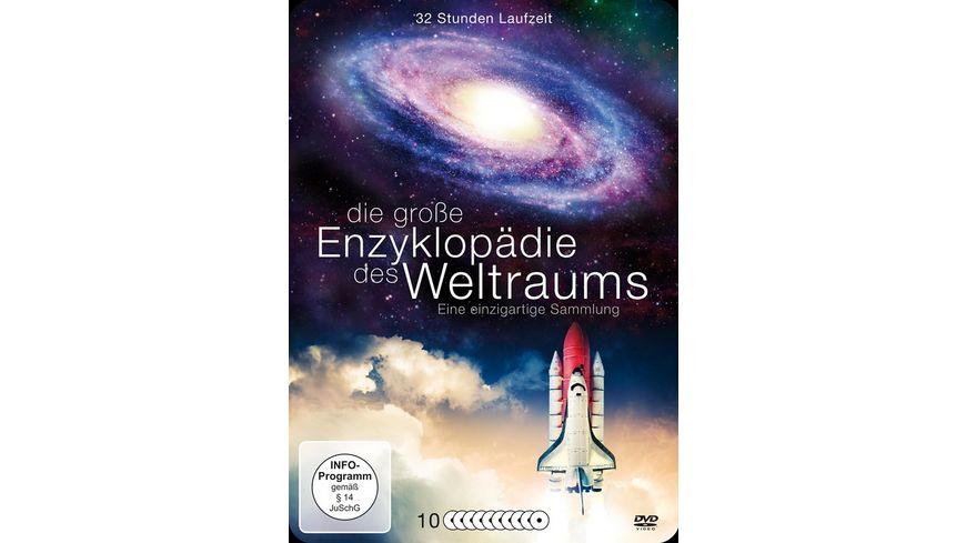 Die grosse Enzyklopaedie des Weltraums 10 DVDs