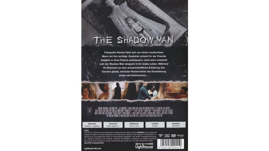 The Shadow Man Uncut