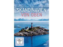 Skandinavien von oben 3 DVDs