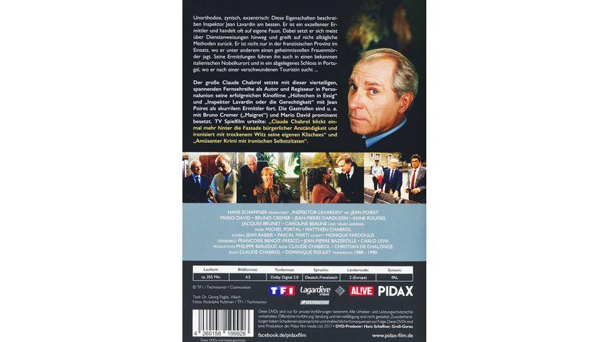 Inspektor Lavardin Die komplette 4 teilige Krimiserie von Claude Chabrol Pidax Serien Klassiker 2 DVDs