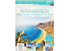Kanaren Der Reisefuehrer 5 DVDs