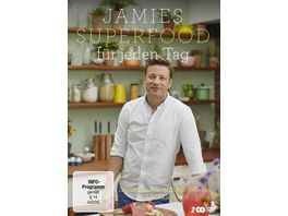 Jamies Superfood fuer jeden Tag 2 DVDs