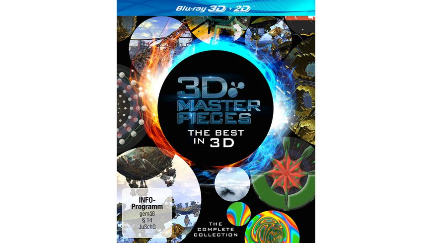 3D Masterpieces The Best in 3D The Complete Collection 2BRs