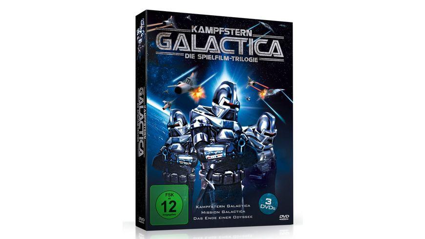 Kampfstern Galactica Die Spielfilm Trilogie 3 DVDs