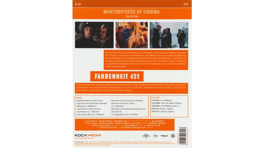 Fahrenheit 451 Masterpiece of Cinema