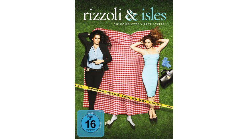 Rizzoli Isles Staffel 4 4 DVDs