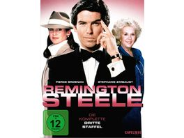 Remington Steele Die komplette dritte Staffel 7 DVDs