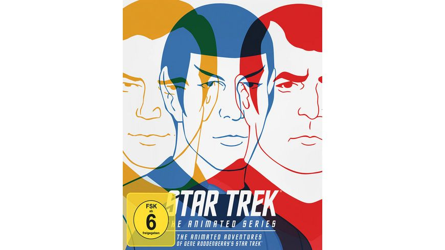 Star Trek The Animated Series 3 BRs