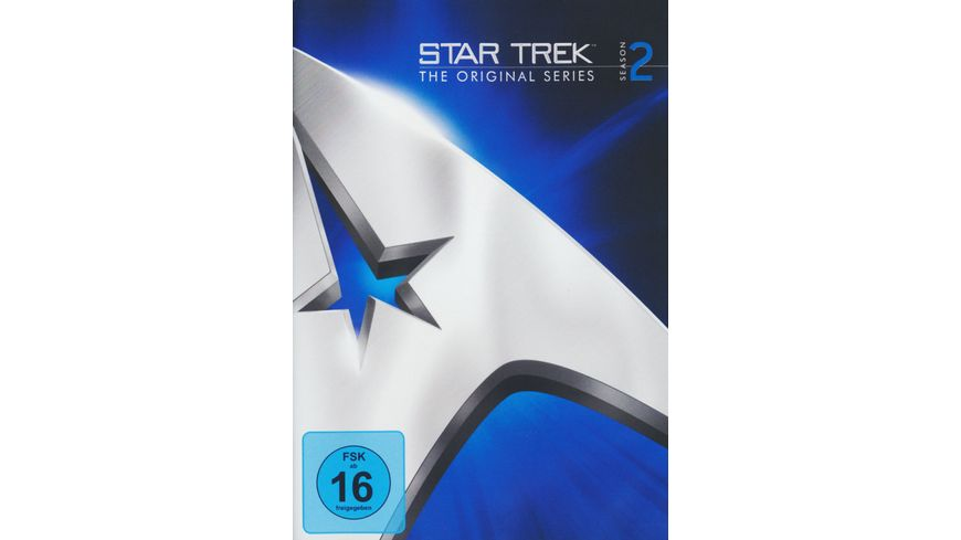 Star Trek Raumschiff Enterprise Staffel 2 8 DVDs