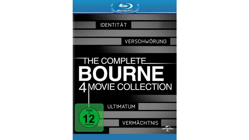 The Complete Bourne Collection 4 BRs