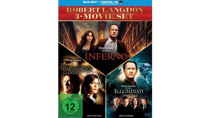 The Da Vinci Code Sakrileg Illuminati Inferno 3 BRs