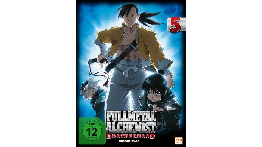Fullmetal Alchemist Brotherhood Vol 5 Episode 33 40 LE 2 DVDs