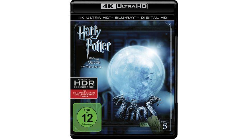 Harry Potter und der Orden des Phoenix 4K Ultra HD Blu ray