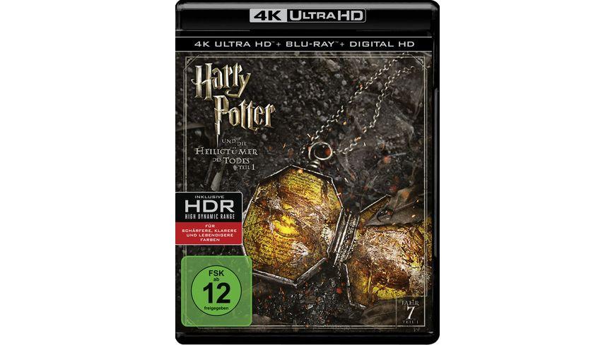 Harry Potter und die Heiligtuemer des Todes Teil 1 4K Ultra HD Blu ray