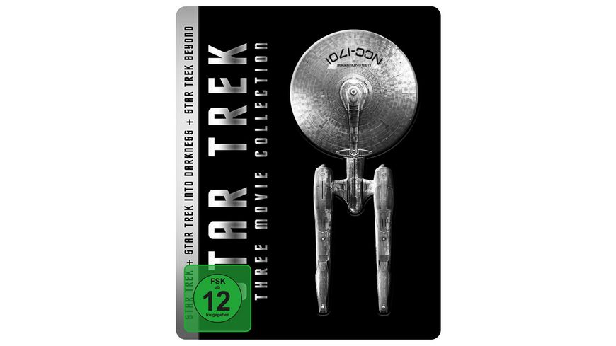 Star Trek Three Movie Collection Steelbook LE 6 BRs