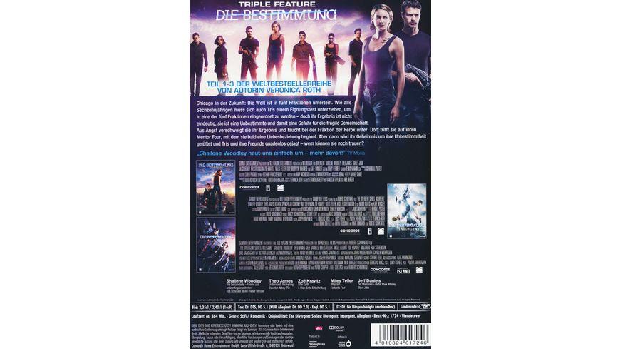 Die Bestimmung Triple Feature 3 DVDs