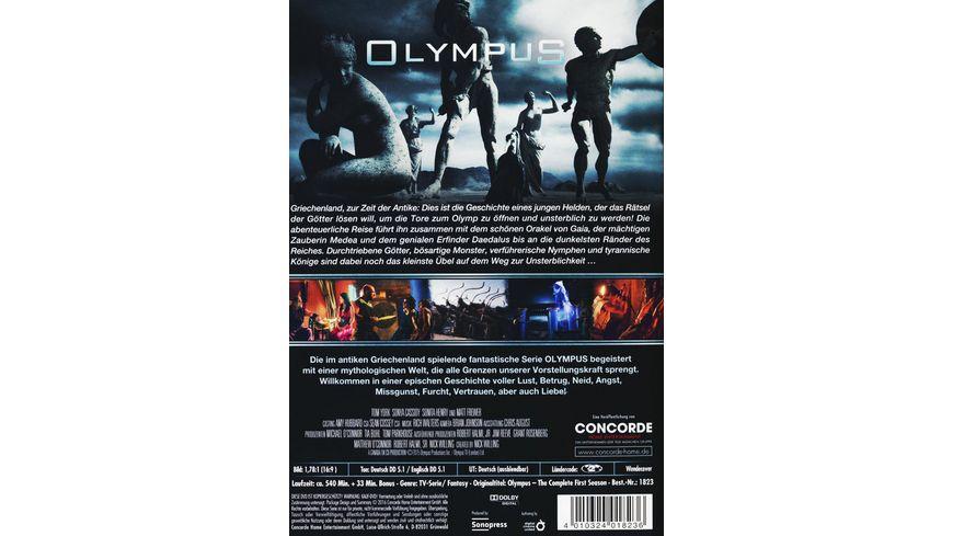 Olympus Die komplette 1 Staffel 4 DVDs
