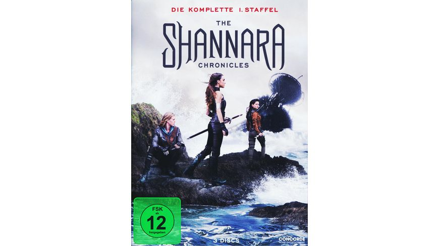 The Shannara Chronicles Die komplette 1 Staffel 3 DVDs