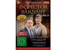 Inspector Barnaby Vol 25 4 DVDs