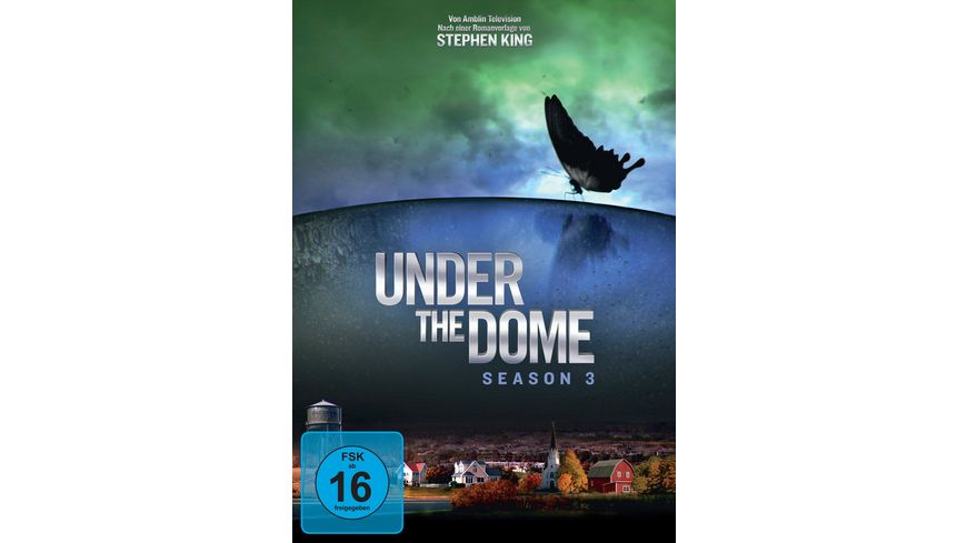 Under the Dome Season 3 4 DVDs