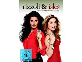 Rizzoli Isles Staffel 5 4 DVDs