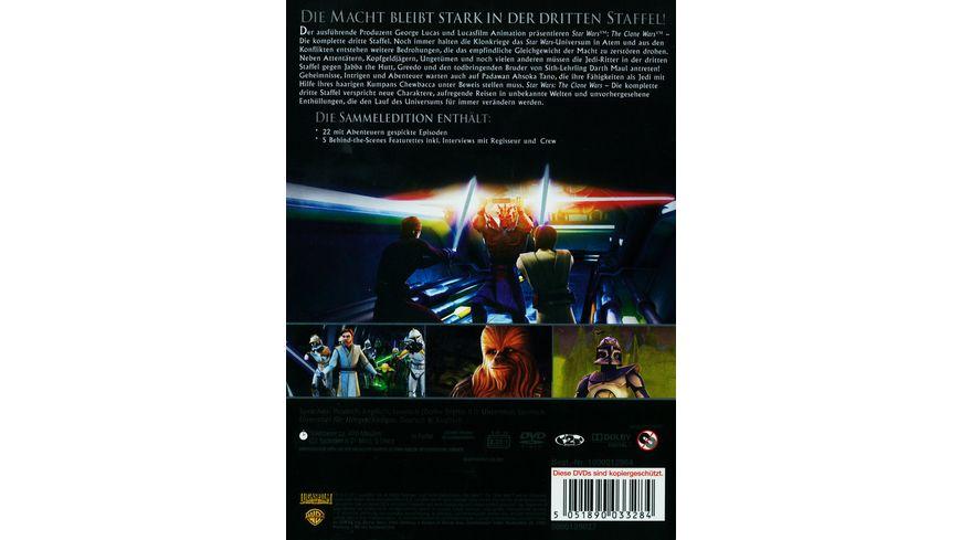 Star Wars The Clone Wars Staffel 3 5 DVDs
