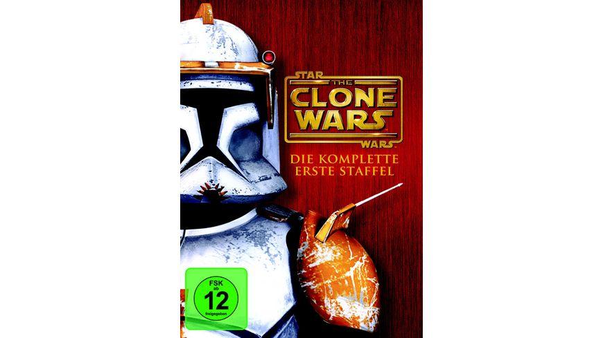 Star Wars The Clone Wars Staffel 1 4 DVDs