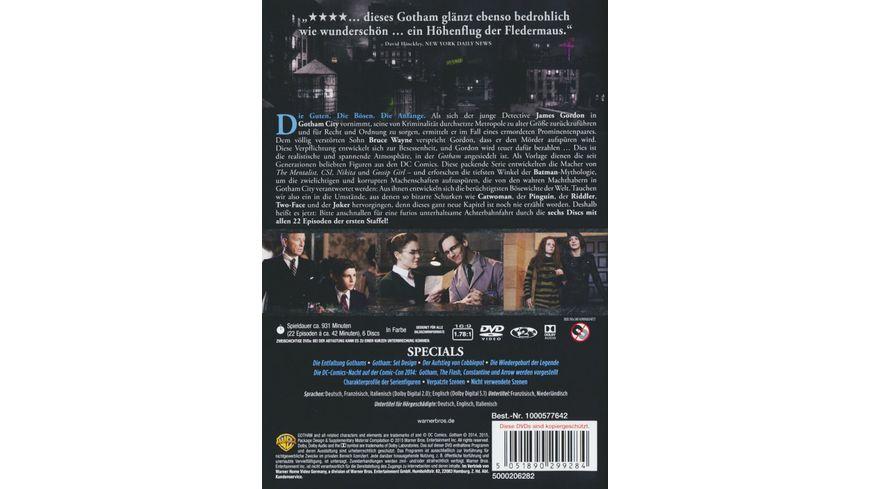 Gotham Staffel 1 6 DVDs