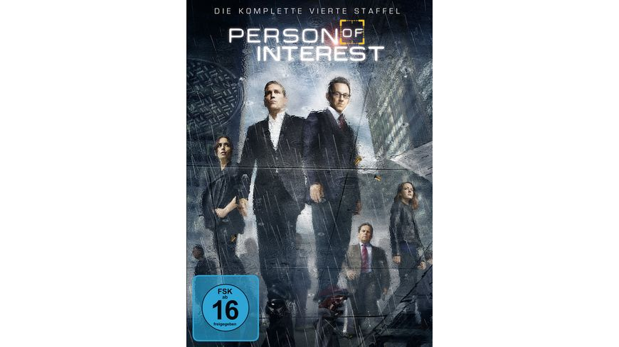 Person of Interest Staffel 4 6 DVDs
