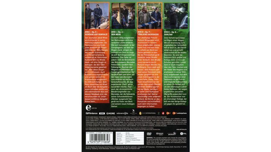 Kommissar Beck Staffel 5 Episode 5 8 2 DVDs