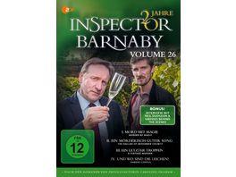 Inspector Barnaby Vol 26 4 DVDs