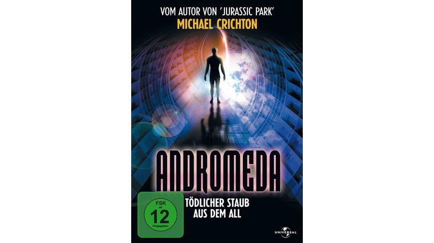 Andromeda Toedlicher Staub aus dem All