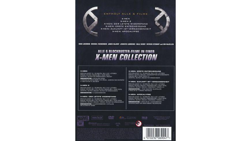 X Men 1 6 Boxset 6 DVDs