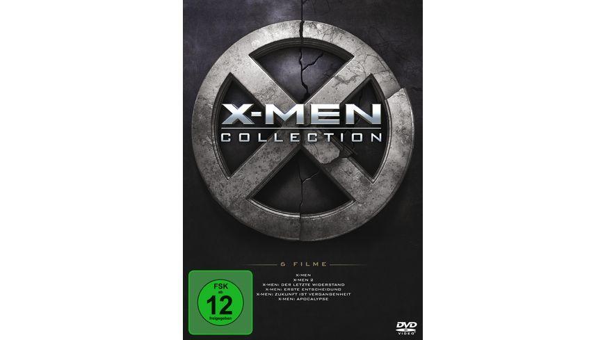 X Men 1 6 Boxset 6 BRs