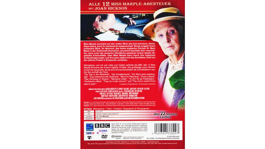 Miss Marple Collection 6 DVDs