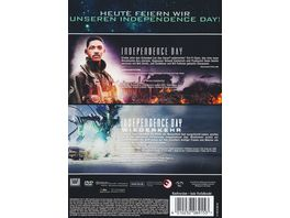 Independence Day 1 2 Box Set 2 DVDs